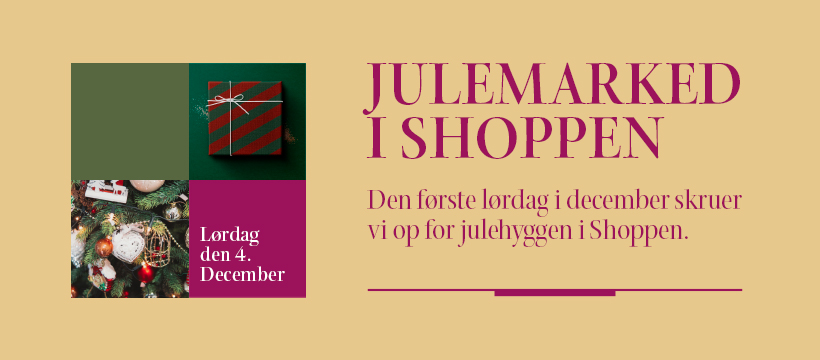 Julemarked i Shoppen